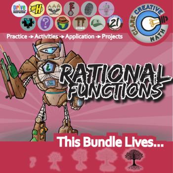Rational Functions -- Algebra 2 & Pre-Calculus Curriculum -- Essential Bundle