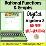 Rational Functions and Graphs for Google Forms™ Distance Learning