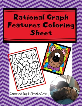 Rational Graph Features Coloring Sheet