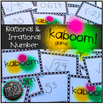 Rational & Irrational Number Kaboom