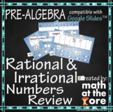 Rational & Irrational Numbers Review - GOOGLE Slides