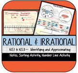 Rational & Irrational Numbers: Sorting & Approximating on a Number Line