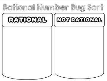 Rational Number Bug Sort