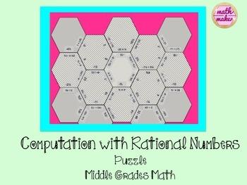 Rational Number Computation Puzzle