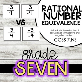 Rational Number Equivalence 7.NS.2