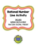 Rational Number Line Activity