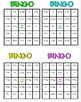 Rational Number Operations Math Bingo - Math Review Game