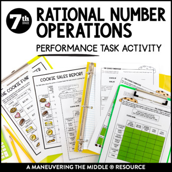 Rational Number Operations Performance Task