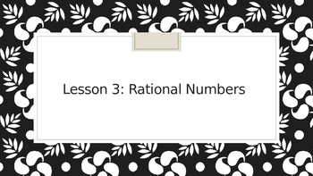 Rational Number PPT