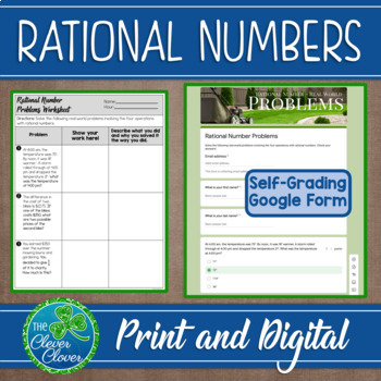 Rational Number Real-World Problems - 7.NS.3