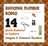 Rational Number Rodeo - 6th Grade Integer & Rational Number Concepts