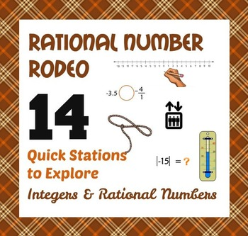 Rational Number Rodeo - 6th Grade Integer & Rational Numbe