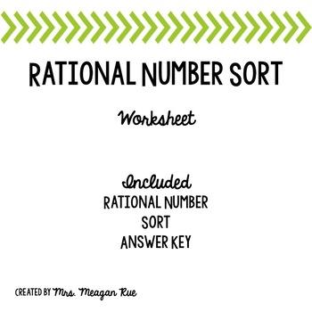 Rational Number Sort
