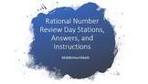 Rational Numbers Stations
