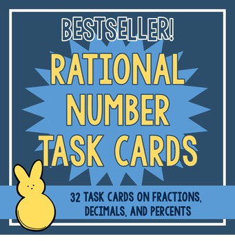 Rational Number Task Cards