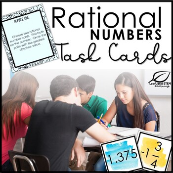 Rational Numbers Task Cards
