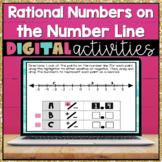 Rational Numbers Digital Activities