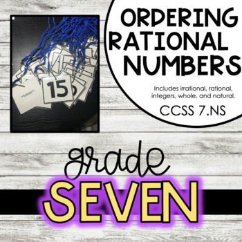 Rational Numbers 7.NS