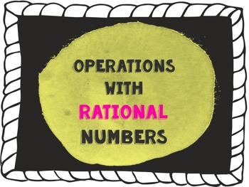 Rational Numbers: Presentation & Practice Problems {7th Gr