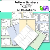 Rational Numbers All Operations Activity 7.NS
