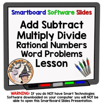 Rational Numbers Add Subtract Multiply Divide Word Problem