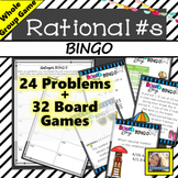 Rational Numbers BINGO Game