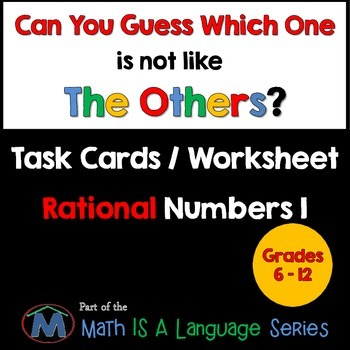 Rational Numbers - Can you guess which one? - print version