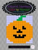 Rational Numbers Color by Number