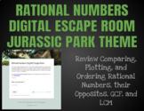 Rational Numbers *Digital* Escape Room   Jurassic Park Theme