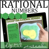 Rational Numbers Digital Interactive Notebook | Blended Learning