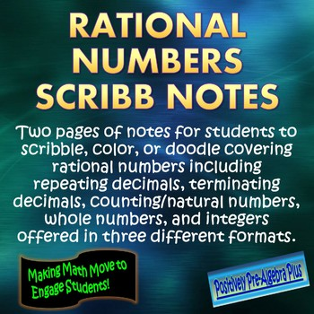 Rational Numbers Scribb Notes