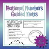Rational Numbers Doodle Notes