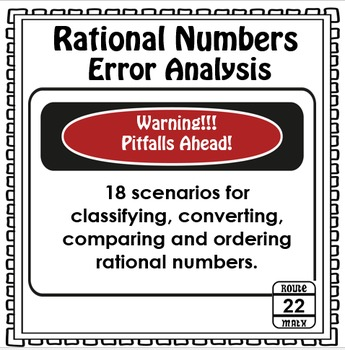 Rational Numbers Error Analysis