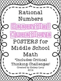 Rational Numbers Essential Questions