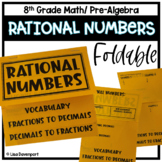 Rational Numbers (Foldable)