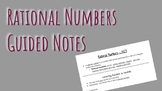 Rational Numbers Guided Notes