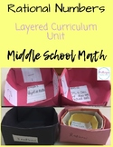 Rational Numbers UNIT | Middle School Math | CCSS