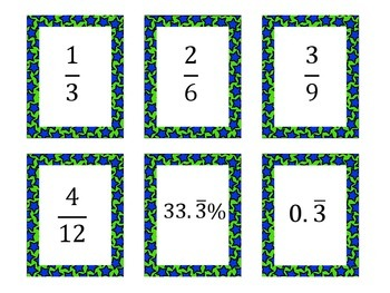 Rational Numbers Match Up