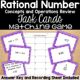 Rational Numbers Matching Game Review