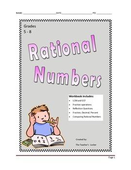 Rational Numbers Mini-Workbook