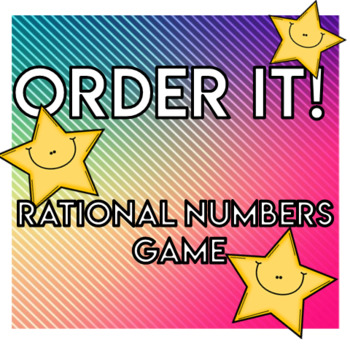 Rational Numbers Order It!
