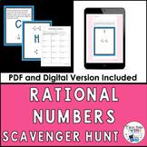 Rational Numbers Scavenger Hunt