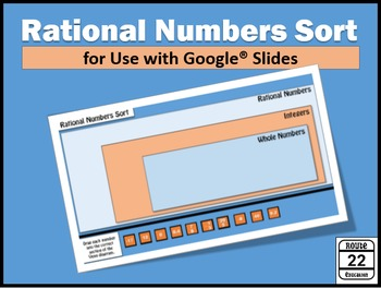 Rational Numbers Sort {Google Slides FREEBIE}