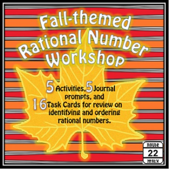Rational Numbers Math Stations