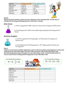 Rational Numbers Task ~ Computing With Rational Numbers