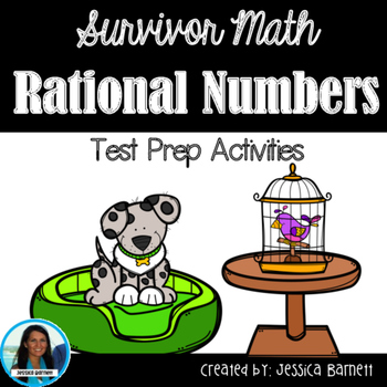 Rational Numbers Test Prep Activities