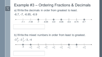 Rational Numbers Bundle - Preview
