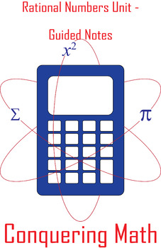 Rational Numbers Unit - Flipped Classroom