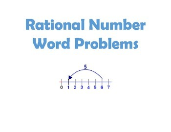 Rational Numbers Word Problems
