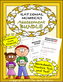 Rational Numbers Worksheets & Test - 7th Grade